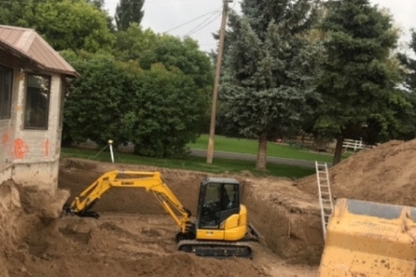 Excavation in Pocatello ID